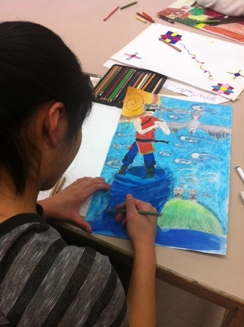 Chenery Student Works on Art
