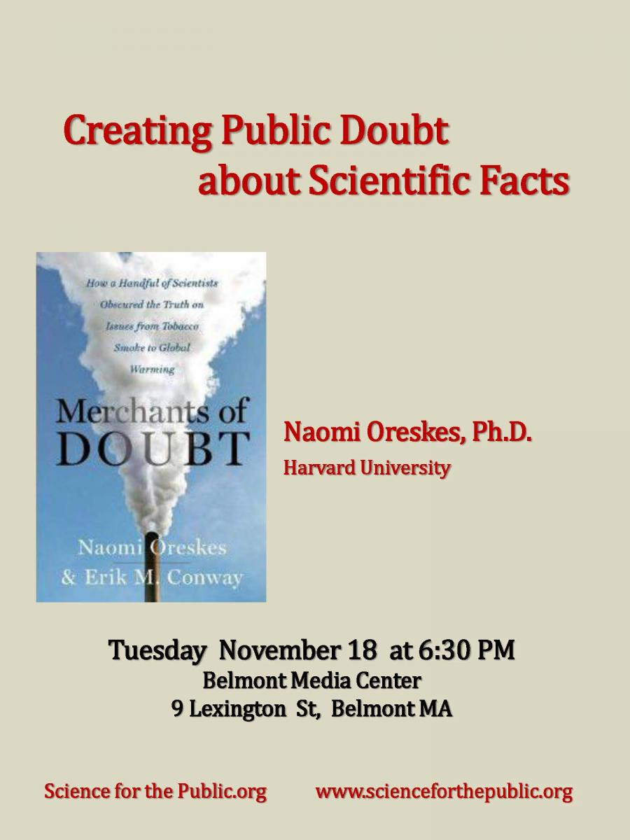 Creating Doubt about Scientific Facts